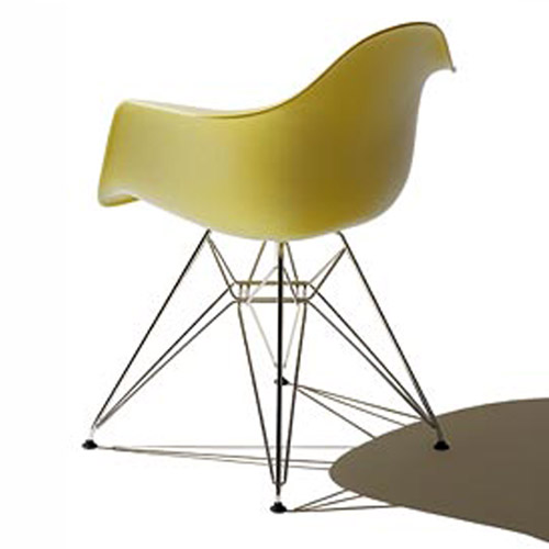 Eames Molded Plastic Armchair