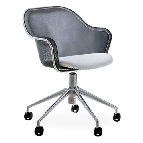 B&B Italia Iuta Swivel Task Chair-Upholstered Seat