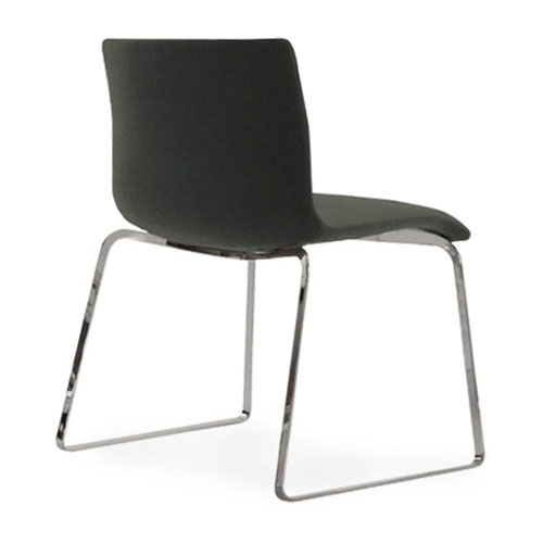 B&B Italia Otto Fully Upholstered Flat Steel Chair