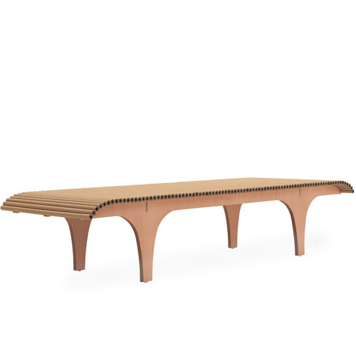 Cappellini Carta Bench