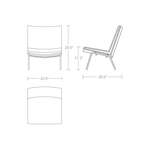 Carl Hansen & Son CH401 Airline Chair