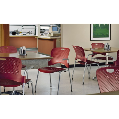 Herman Miller Caper Stacking Chair With Arms