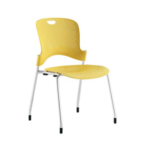 Herman Miller Caper Stacking Chair With No Arms