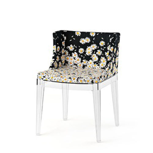 Kartell Mademoiselle Chair with Printed Fabrics