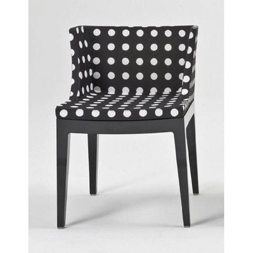 Kartell Mademoiselle Chair with Phillipe Starck Fabrics