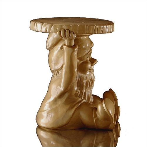 Kartell Gnomes Gold Limited Edition Attila Stool