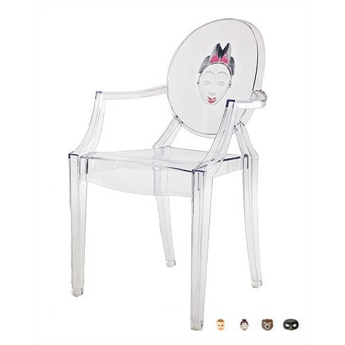 Kartell Louis Ghost Dining Chair with Theme