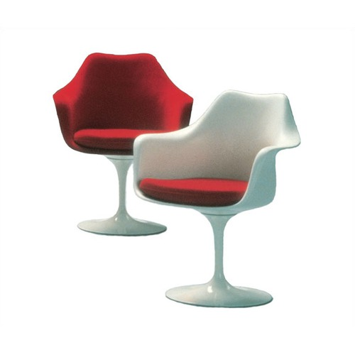 Knoll Saarinen Upholstered Tulip Arm Chair