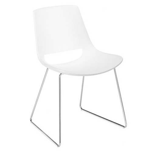 Arper Palm Sled Base Chair