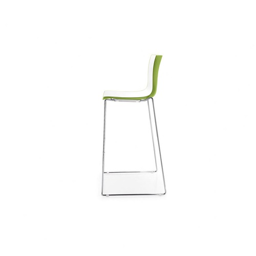 Arper Catifa 46 Counter Stool with 2-Tone Seat