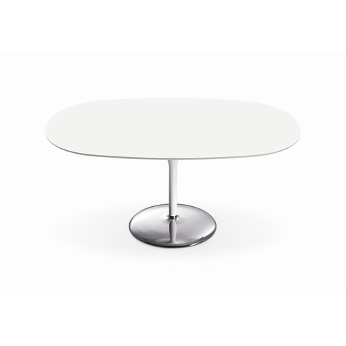 Arper Duna Oval Dining Table