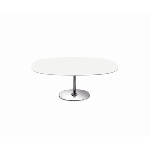 Arper Dizzie Small Oval Dining Table