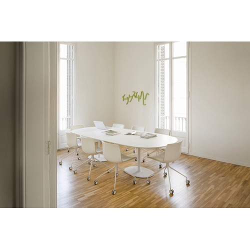 Arper Dizzie Large Oval Dining Table