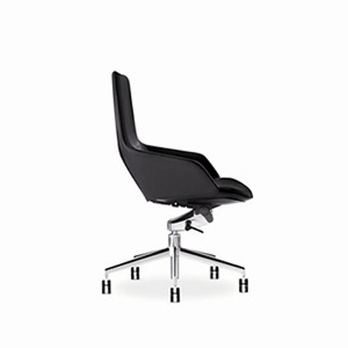 Arper Aston Mid-Back Office Chair with Gas Lift On Castors