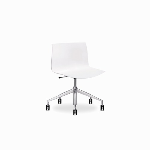 Arper Catifa 53 Mid-Back Leather Task Chair