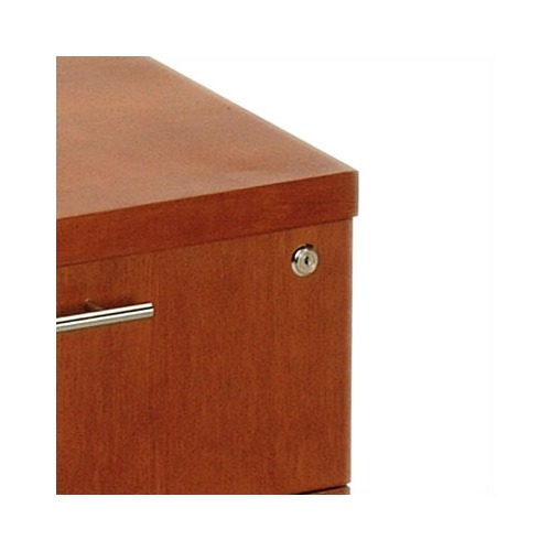 Offi D Squared Lateral File in Cherry