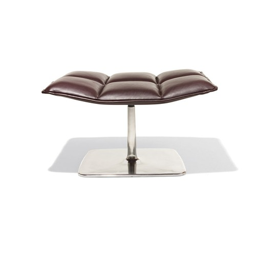 Knoll Jehs and Laub Pedestal Base Ottoman