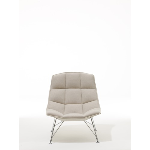 Knoll Jehs and Laub Wire Base Lounge Chair