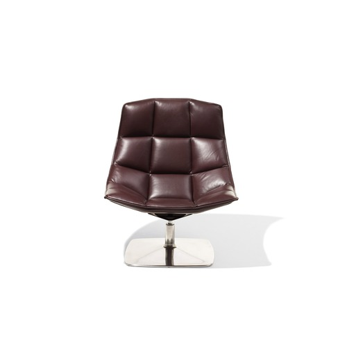 Knoll Jehs and Laub Pedestal Base Lounge Chair