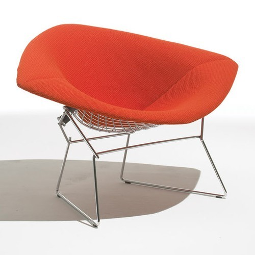 Knoll Large Diamond Lounge Chair Fully Upholstered