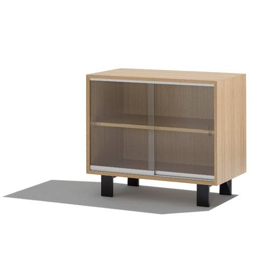 Nelson Basic Cabinet-Medium With Sliding Doors