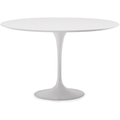 Saarinen Dining Table-white laminate