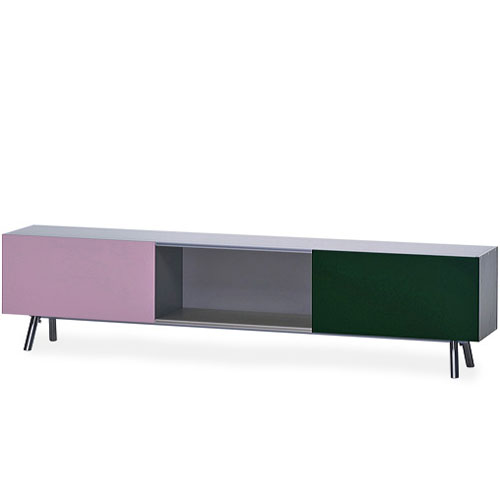 Vitra Kast 1 Height Unit Low Storage