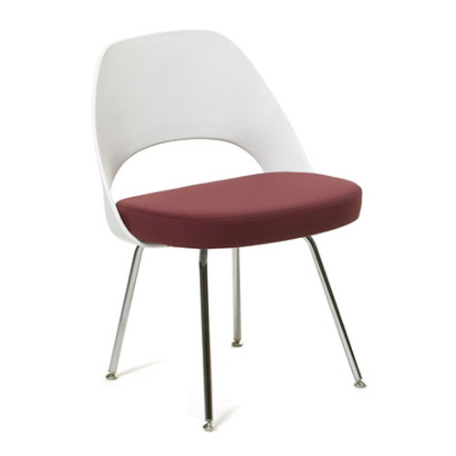 Eero Saarinen Plastic Back Side Chair
