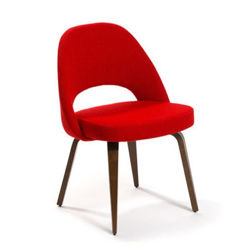 Eero Saarinen Side Chair-Wood Legs