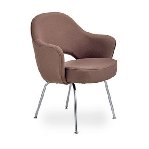 Eero Saarinen Arm Chair-Metal Legs