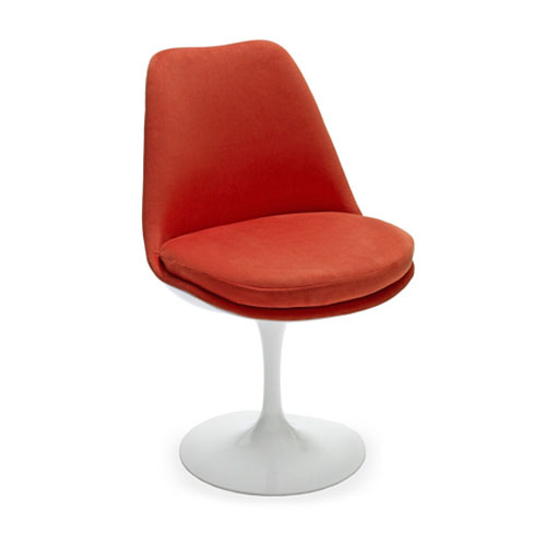 Eero Saarinen Tulip Side Chair-Fully Upholstered
