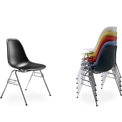 Eames Molded Plastic Stacking Chair
