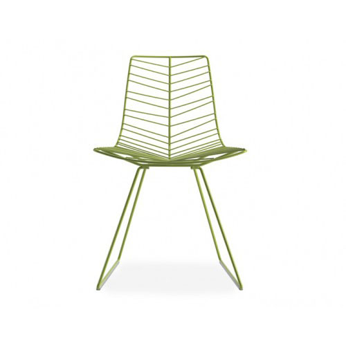 Arper Leaf Side Chair with Sled Base