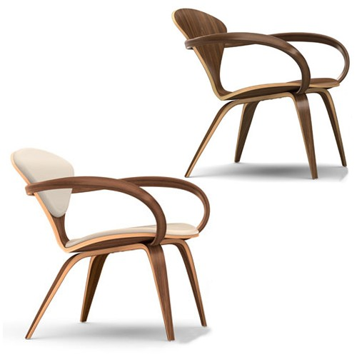 Cherner Lounge Chair with Arms