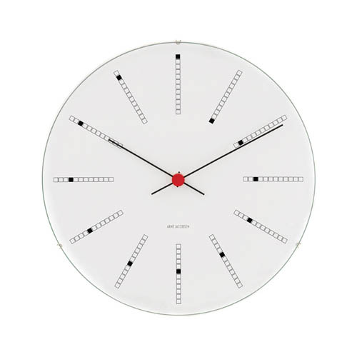 Arne Jacobsen Bankers Wall Clock