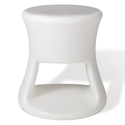 Offi Tiki Stool in White