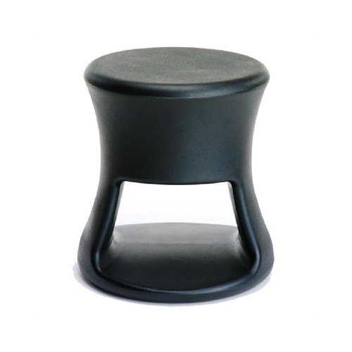Offi Tiki Stool in Black