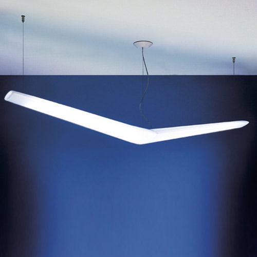 Artemide Mouette Asymmetrical Suspension Light