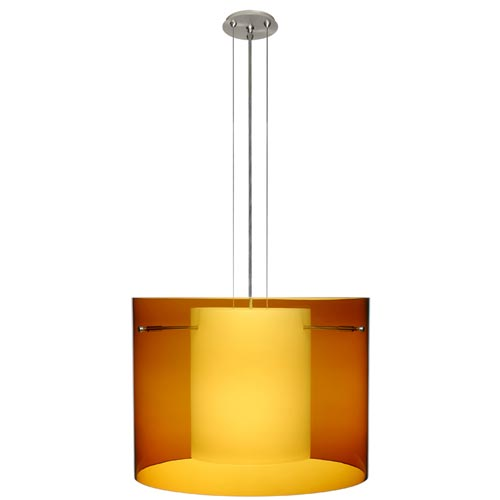 Besa Lighting Pahu 16 Cable Pendant Lamp