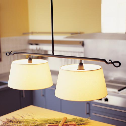 Bover Ferrara 2 Luces Pendant Light