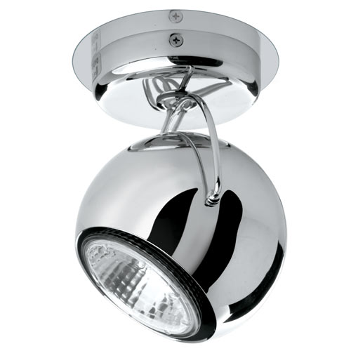 Fabbian Beluga Steel One Light Ceiling or Wall Light - D57G13