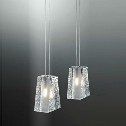 Fabbian Vicky Two Light Pendant - D69A03