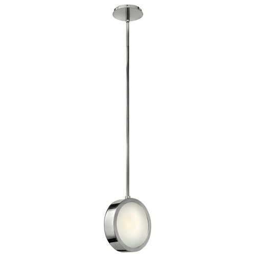 Fredrick Ramond Broadway 1 Light Linear Mini Pendant Light